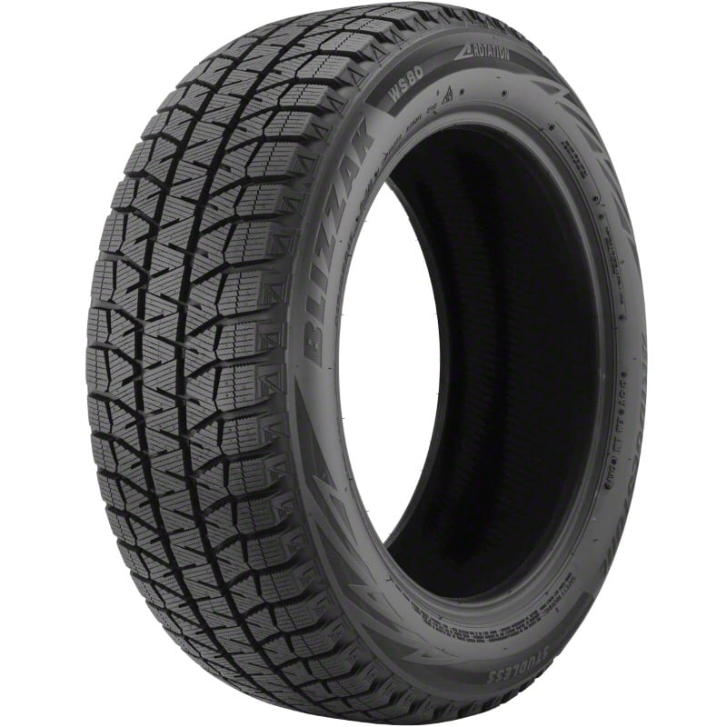 Bridgestone Blizzak WS-80 Winter Tires 245/50 18""