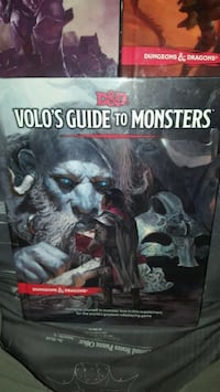 D&D Book....Volo's Guide to Monsters.