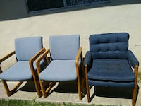 Very nice office chairs set of .$5 each or $15 Riverbank, 95367