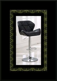 Black bar stool Alexandria, 22305