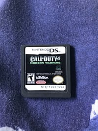 Call of Duty 4 Modern Warfare Nintendo DS game