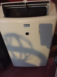 white and blue portable air conditioner Prattville, 36067