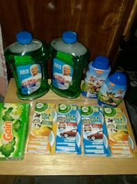 assorted household cleaning products lot Kansas City