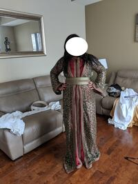 women's brown and red traditional dress Ottawa, K1L