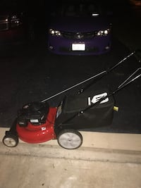 red and black push mower Lorton, 22079