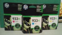 HP 933XL NEW!! (Cyan/Yellow/Magenta) Mount Airy, 21771