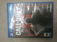 Call of Duty Black Ops 3 PS4 game case Hamilton, L8J 2V5