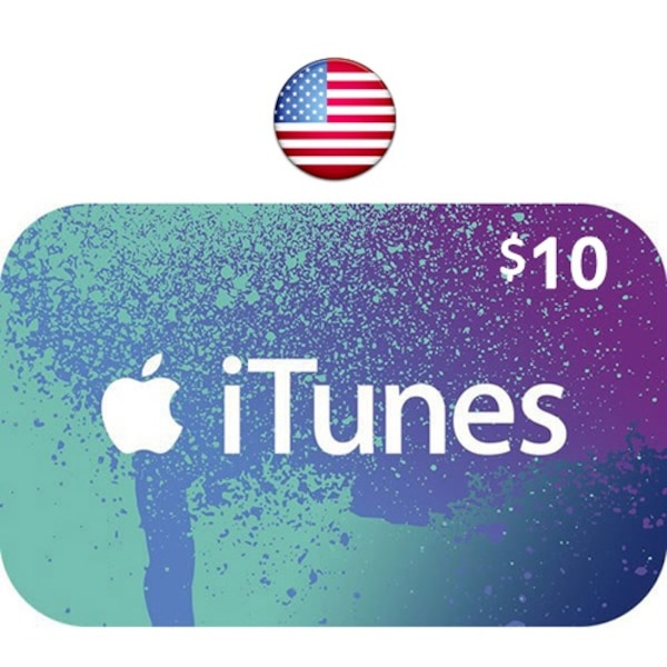 $10 Apple iTunes Gift Card (Email Delivery)