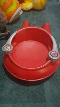 Radio flyer sit n spin saucer