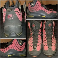 pair of black-and-red Nike basketball shoes Camp Springs, 20746