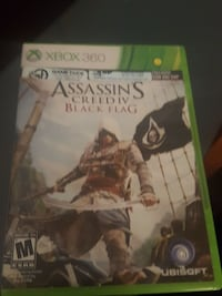 Assassin's Creed 4 Black Flag Xbox 360 game case Los Angeles
