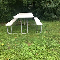 White picnic table  Sevierville, 37862