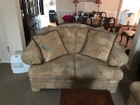 brown and gray floral 2-seat sofa Highlands Ranch, 80130