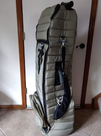 Samsonite Rolling Golf Travel Bag Khaki  Virginia Beach, VA, USA