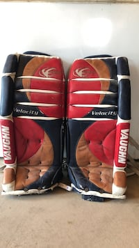 Velocity 7070 Vaughn full set Goalie Pads 29'' and left glove and right blocker Niagara-on-the-Lake, L0S