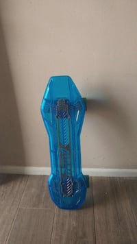 penny board with lighted Wheels
