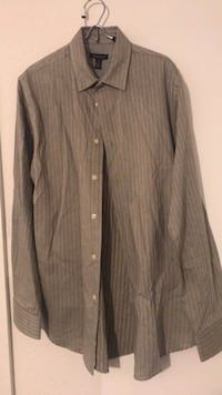 gray button-up long-sleeved shirt Miami, 33129