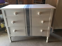 white wooden 3-drawer chest Calgary, T2Y 3X5