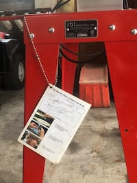 red and white table saw 149 mi