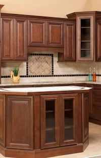 Kitchen cabinets, solid wood kitchen cabinet