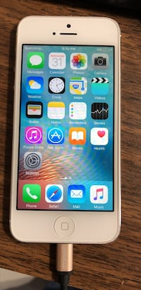 iPhone 5 good cond. unlocked and no iCloud all clear Edmonton, T6T 1W2
