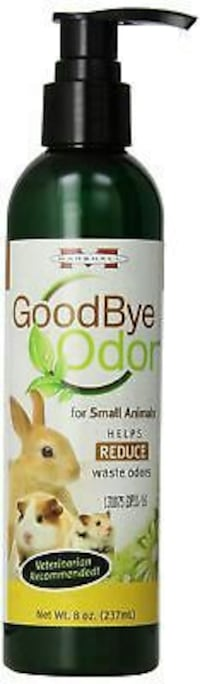 GOODBYE ODOR FOR SMALL ANIMALS