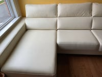 White leather sofa Fairfax, 22031