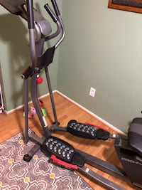 Black and gray elliptical trainer Springfield, 22151