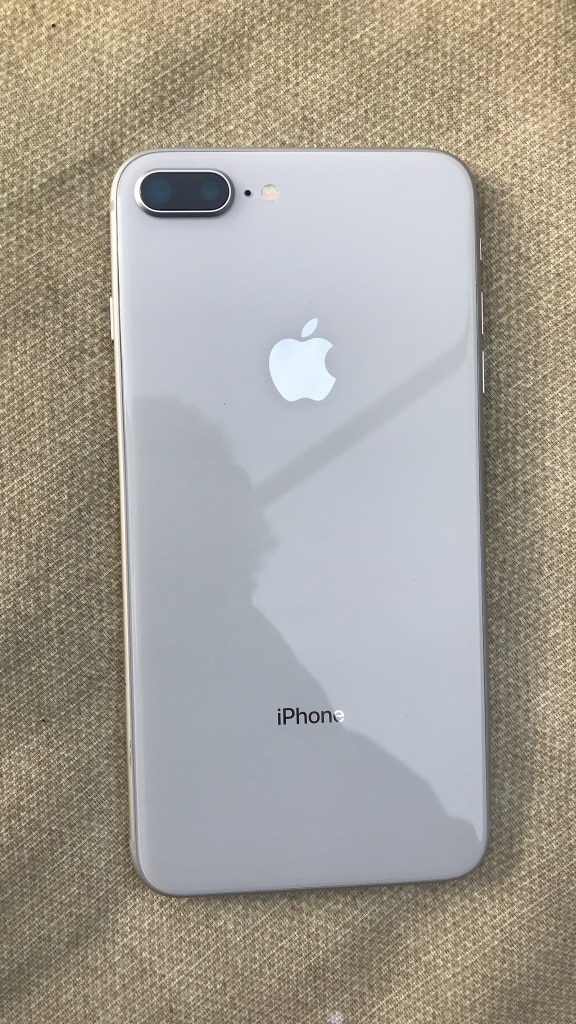 White iPhone 8 Plus