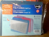 File, Folders, presentation binders for home and o Brampton