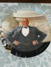 Little Orphan Annie Daddy Warbucks collector plate Whitby, L1P 1A1