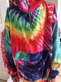 Tye dye windbreaker Los Angeles, 91331