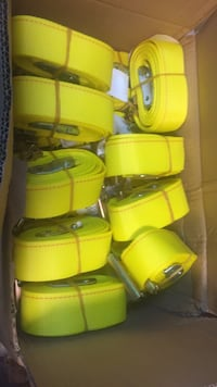 yellow and green plastic containers Conley, 30288