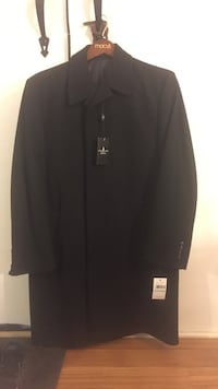 Black button-up coat Plainwell, 49080