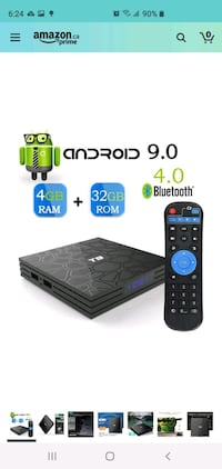 New T9 Android TV box