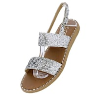 unpaired brown and black leather sandals Garyville, 70076