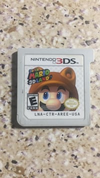 "Nintendo 3ds ""Super Mario 3D Land"" game cartridge Toronto, M1T 3K2"