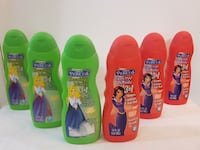 NEW 6pcs.Princess3 in1 Shampoo cond and Body Wash Brampton, L6Z
