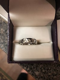 Men's 14k White Gold Ring Size 10 Brand New Centreville, 20121