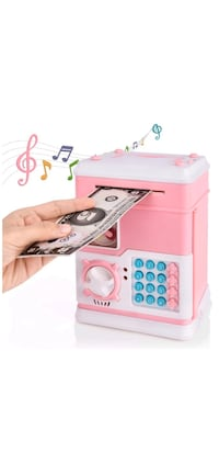 Brand new Piggy Bank,Electronic ATM Password Cash Coin Can Auto Scroll