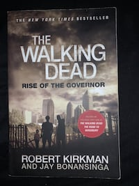 The Walking Dead Rise of the Governor book