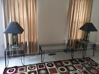 Living room table set and lamps Hagerstown, 21740