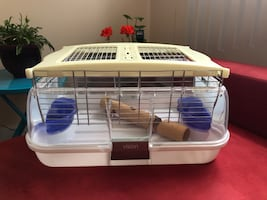 Hamster cage (rodents)