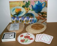 Assorted Table Mats and Coasters Mississauga, L5B 4M7