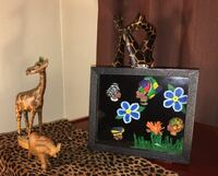 Giraffe and elephant figurine African Heritage San Francisco, 94118