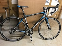 Black and blue drop-bar road bike Gainesville