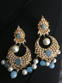 pair of silver and white pearl earrings Bethesda, 20814