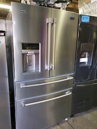 MAYTAG 4-doors fridge NEW scratch and dent