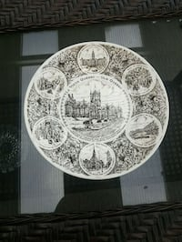 English Collector Plate Surrey, V4A 4X4