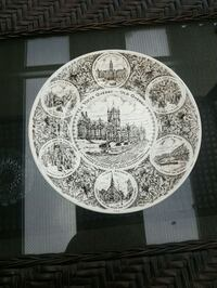 English Collector Plate. From England.